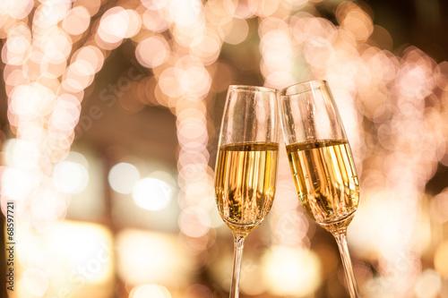 Poster シャンパンで乾杯
