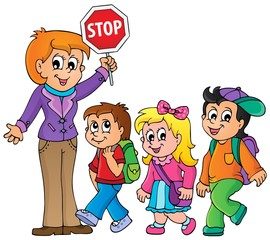 School kids theme image 1