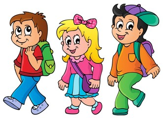 School kids theme image 3