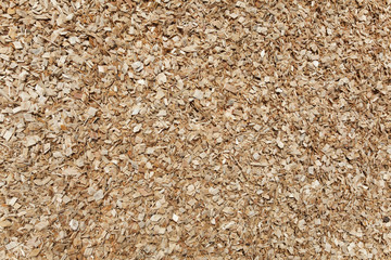 Wood chip background.