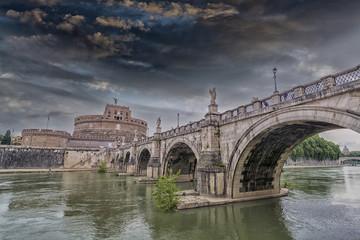 Castel St. Angelo Bridge, Rome