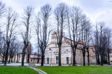 Old deconsecrated church in Pisa