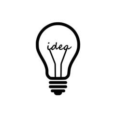 Light bulb, idea