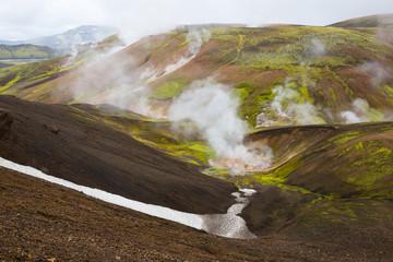 Geothermal area Landmannalaugar