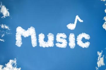 Musik aus Wolken