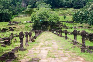 Wat Phu Champasak temple in Laos