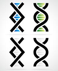 DNA strand, helix