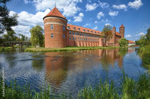 fototapeta na ścianę Zamek w Lidzbarku Warmińskim