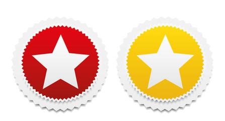 Star favorite web icons