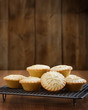 canvas print picture - Mince Pies