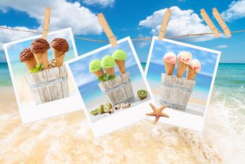 Icecream Polaroids