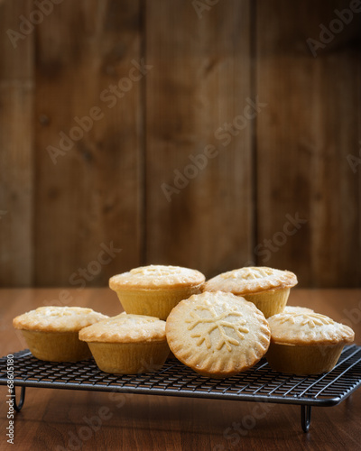 canvas print picture Mince Pies