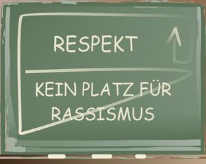 Respekt – Kein Platz für Rassismus