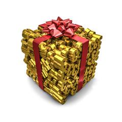 Money gift euros