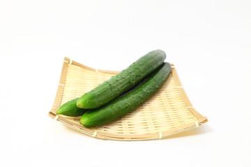新鮮オーガニック胡瓜