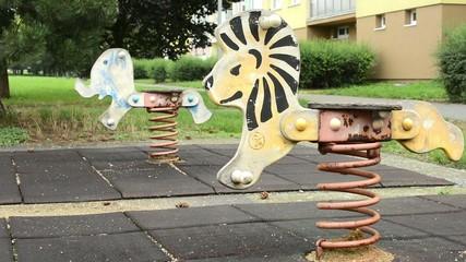 playground with nature - swing