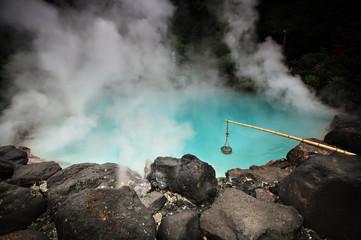 """Sea Hell"" (""Umi Jigoku"") hot spring in Beppu, Kyushu, Japan"