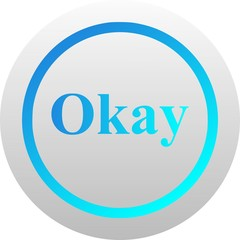 Okay icon (vector)