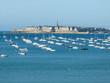 Vue port Saint Malo