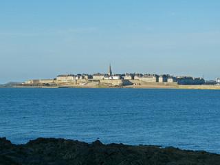 Vue Saint Malo