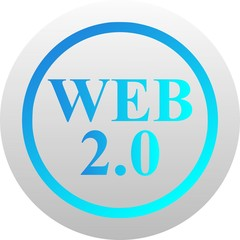 Web 2.0 icon (vector)