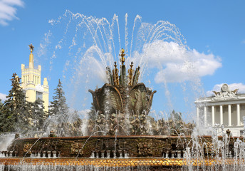 "Fountain ""Stone Flower"" in Moscow"