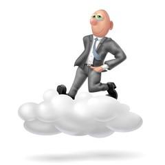 sulle nuvole