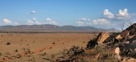 Strada dello Tsavo Est africa