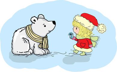 Рождественская иллюстрация