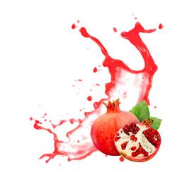 Pomegranate splash