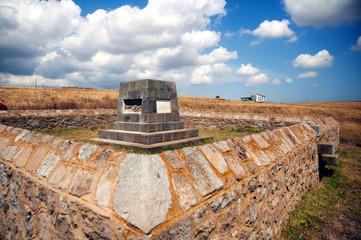 West Mudros Muslim WWI cemetery, Lemnos island, Greece