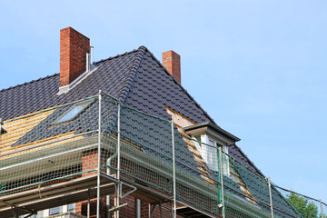 Dacherneuerung mit Gaube