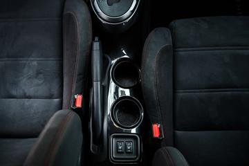 Modern sport car dashboard