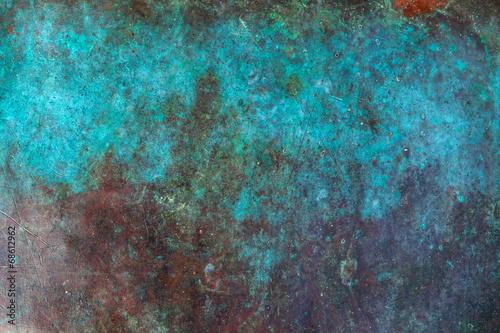 canvas print picture Copper background