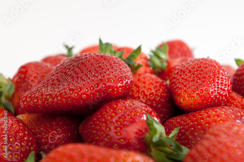 canvas print picture strawberry