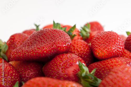 canvas print picture strawberry