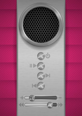 Abstract Speaker Concept Design