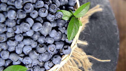 Portion of Blueberries (not loopable)