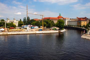 Canal in Berlin
