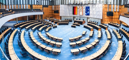 canvas print picture State parliament in Berlin