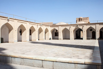 Jameh Mosque in Yazd, Iran.