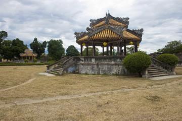 Complex of a Citadel in Hue, Vietnam