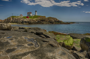 Maine Coastal Lighthouse