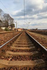 Latvian Railway Track