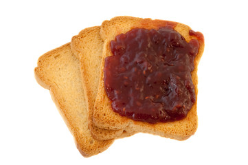 golden rusk and jam