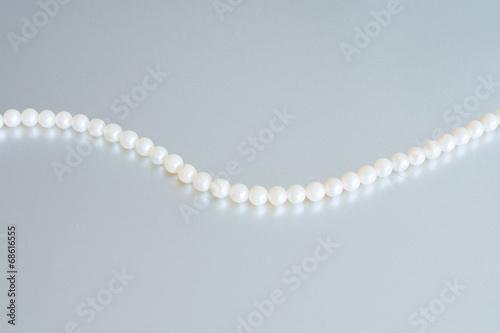 Leinwandbild Motiv Perlen