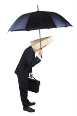 Anonymous business agent isolated