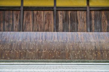 京都の街並み・犬矢来