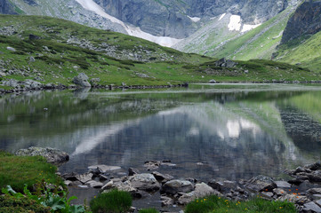 Reflections in the Twin Lake