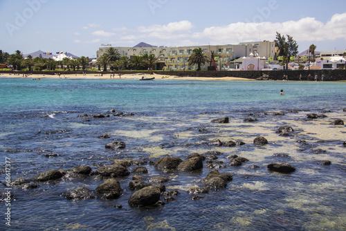 canvas print picture Stand Lanzarote